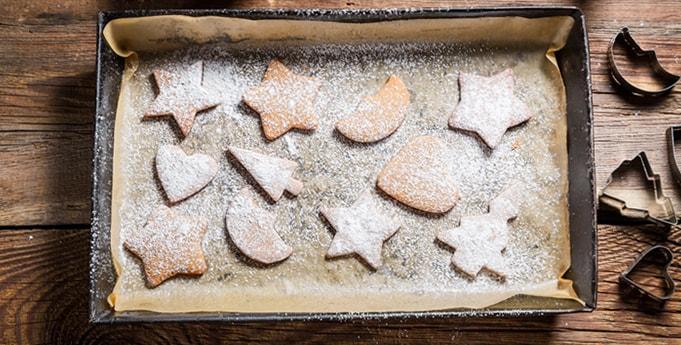 Weihnachtsgebäck: Spitzbuben und Stollen